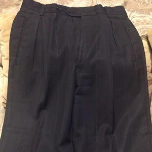 👨🔧MEN'S PIN STRIPPED DRESS PANTS SIZE 38/31